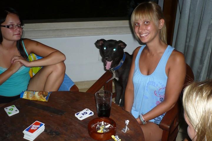 Skib-Bo -peliä Klaran kanssa