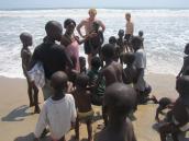 Kenneth og Brian I Afrika