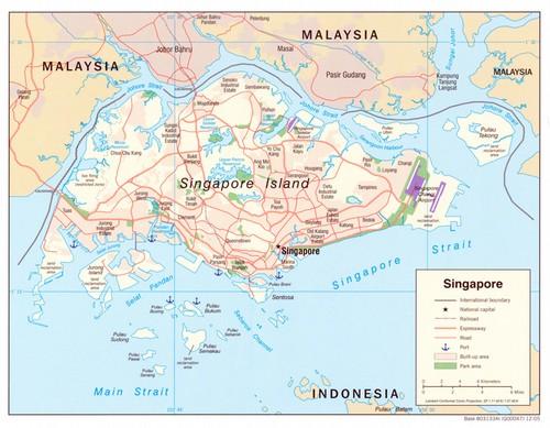 Singaporen Kartta Changeling Off Exploring