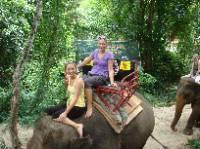 Sonja og Christina i Thailand