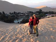 Reilly And Dad: Peru 2014