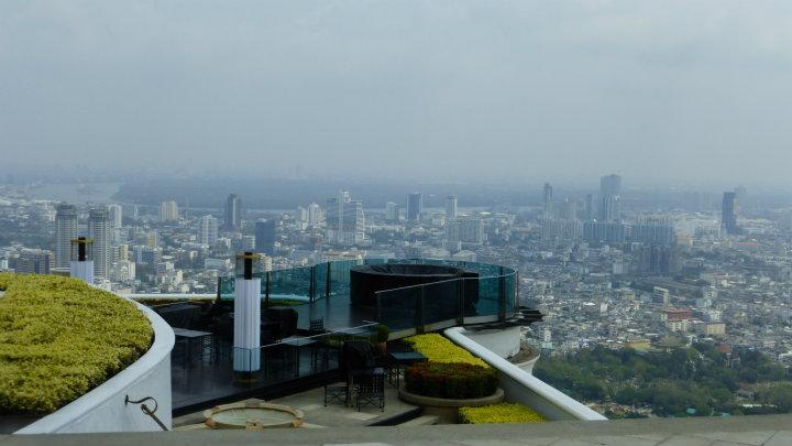 uitzicht vanaf de 63e verdieping