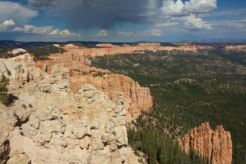 One of Bryce Canyons beautiful views