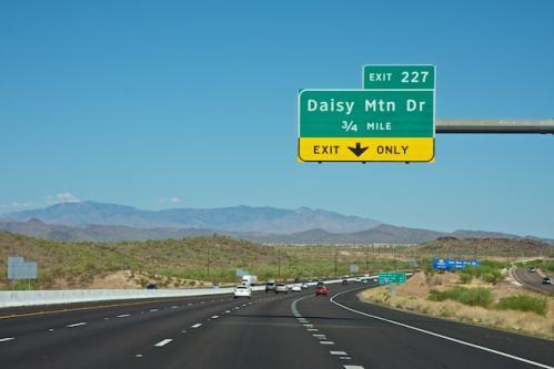 Just left Phoenix