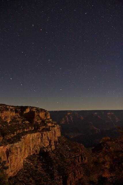 Grand Canyon by night 2