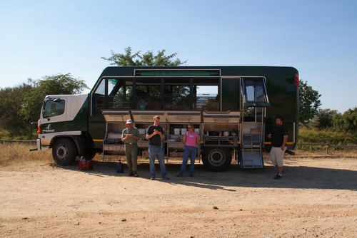 Drifters truck er også en pølsevogn
