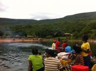 Ditte og Julie i Zambia