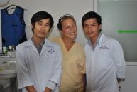 Eileen in Kambodscha