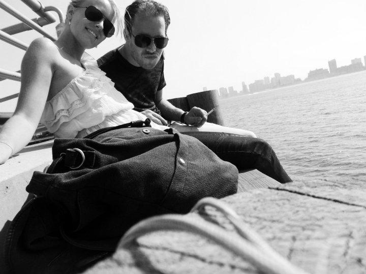 Ultieme chilspot bij de Hudson River