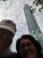 Ken and Desley in Taiwan