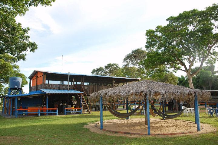 Het kamp in de Pantanal