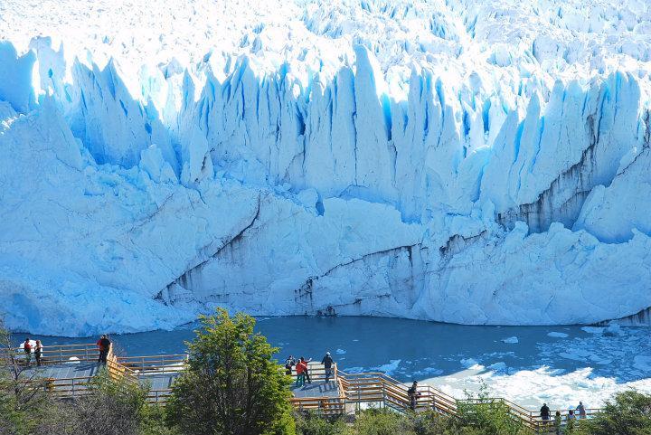 De Perito Moreno gletsjer