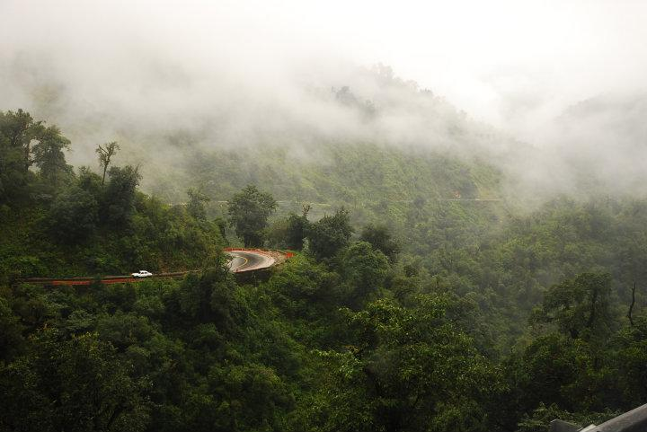 Door de mistige Andes op weg naar Cafayate