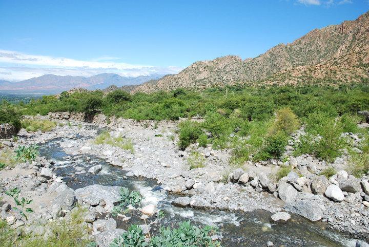 Rio Colorado, Cafayate