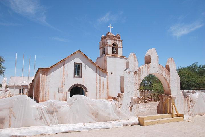 Kerk, San Pedro de Atacama