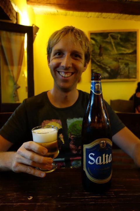 Frans en z'n lokale bier-tje