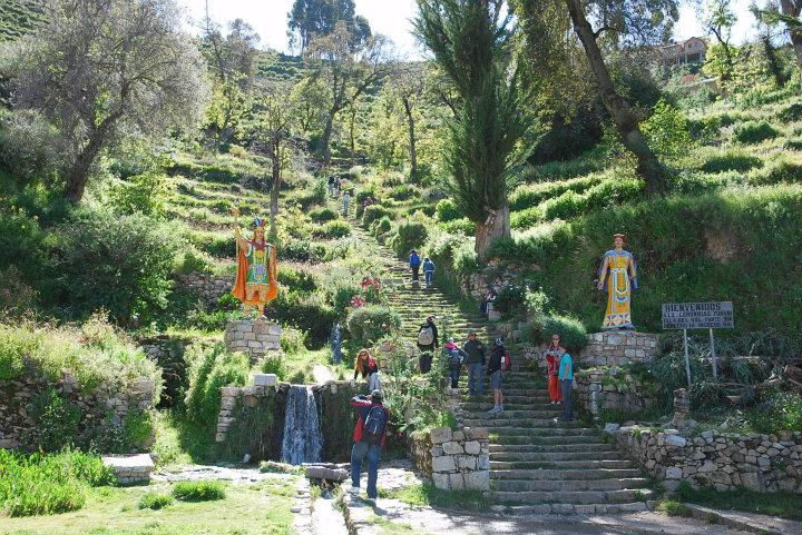 Isla del Sol, Inca-trap
