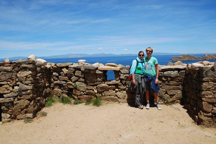 Isla del Sol, Inca-ruïnes
