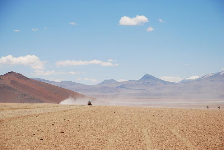 Desolaat landschap