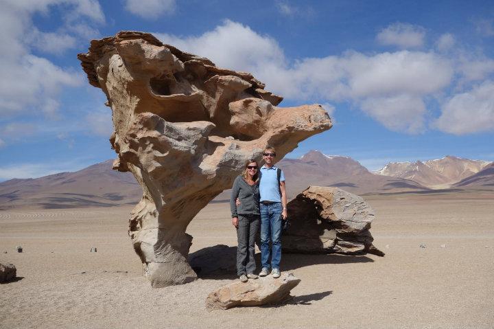Arbol de Piedra, rots in de vorm van een boom