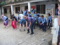 Volunteering in Sirutar, Nepal, 2010