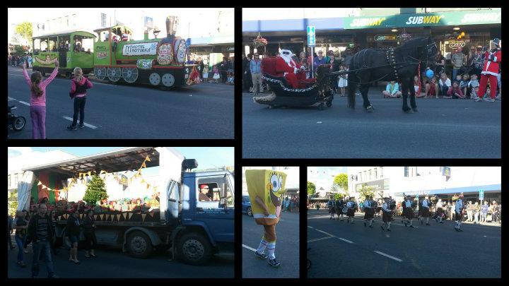 Christmas parade/ juleoptog.