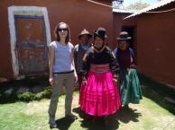 Judith in Zuid Amerika!