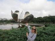 Julie og Leif i Sør-Amerika