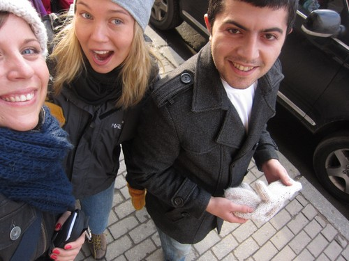Ice baby, Russian girl and  our new friend Glad!