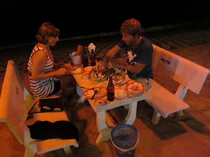 Sea food -illallinen