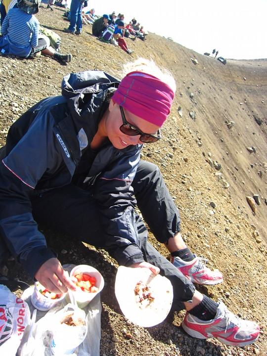 Tortillaa tulivuorilla