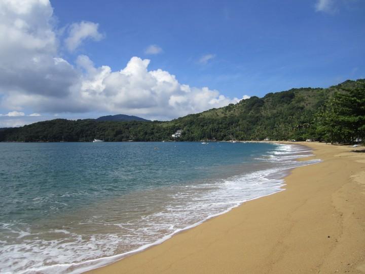 Fin lille strand
