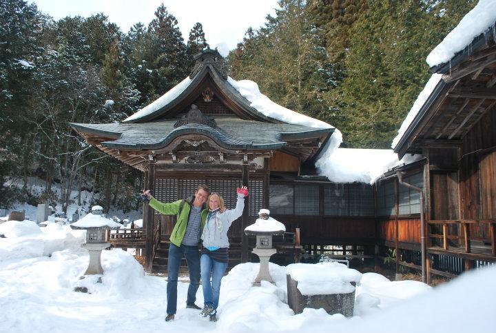 Winter In Takayama Linz En Thijs Op Reis