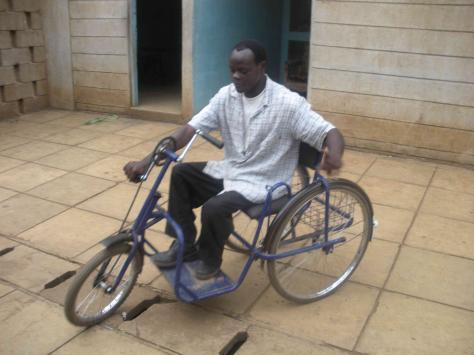 Fiets voor gehandicapten kind
