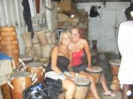 Louise og Kamilla i Ghana