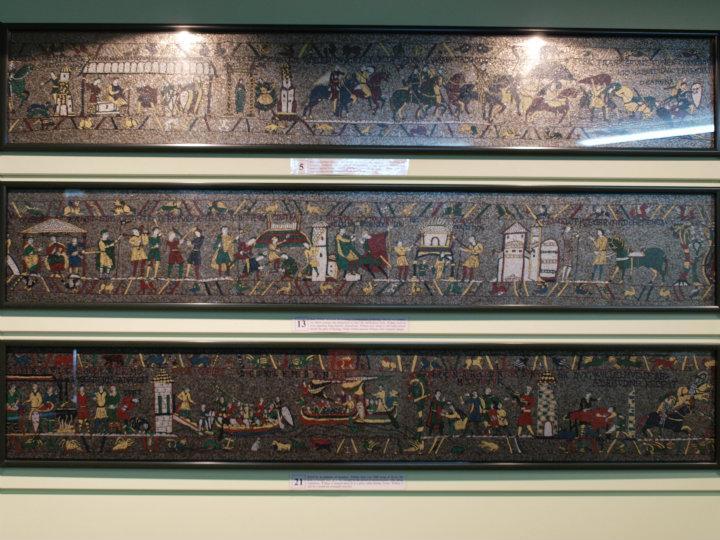bayeux tapet Bayeux Tapet mosaik | Oplever New Zealand bayeux tapet