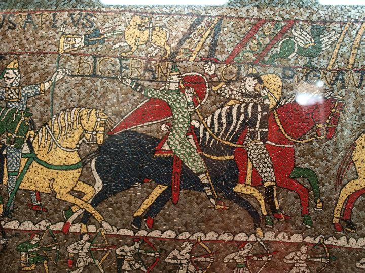 bayeux tapet Bayeux Tapet mosaik   nærbillede | Oplever New Zealand bayeux tapet