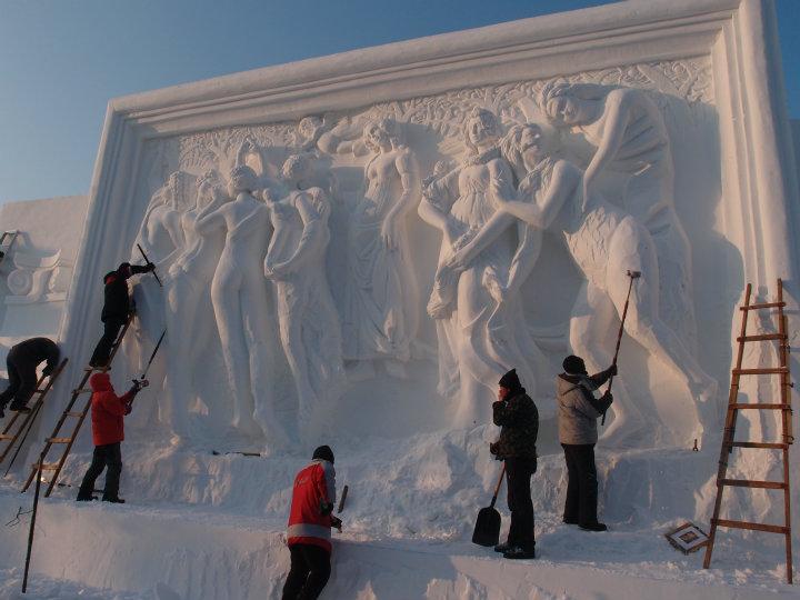 Kunst i sne