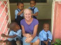 Maria og Sine i Tanzania