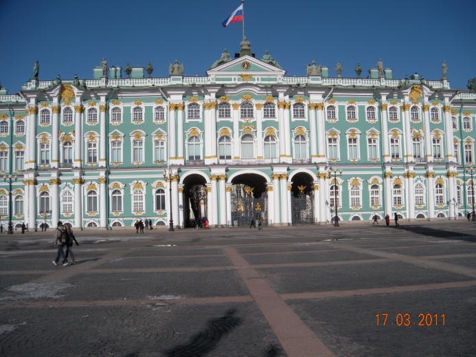 Vinterpaladset Marie Og Sara På Rejse