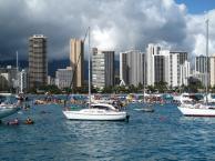 Martin på Hawaii