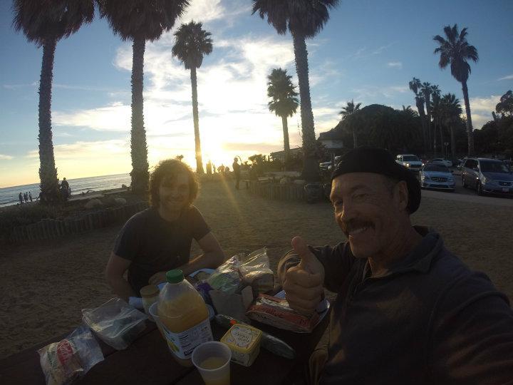 Santa Barbara dinner