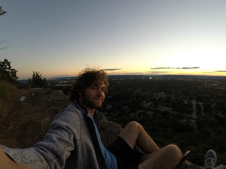 Bluffs uitzicht op La Crosse