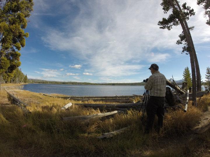 Riddle Lake met Fred