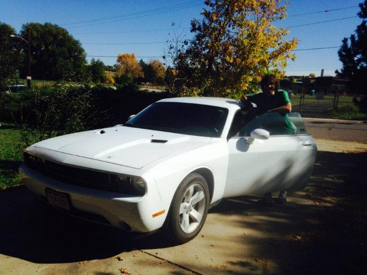 Mijn Dodge Challenger