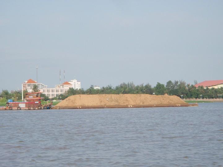 Transportmiddel på mekong floden