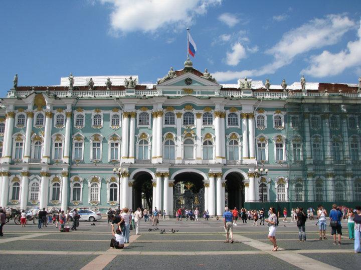 Vinterpaladset Mit Russiske Eventyr