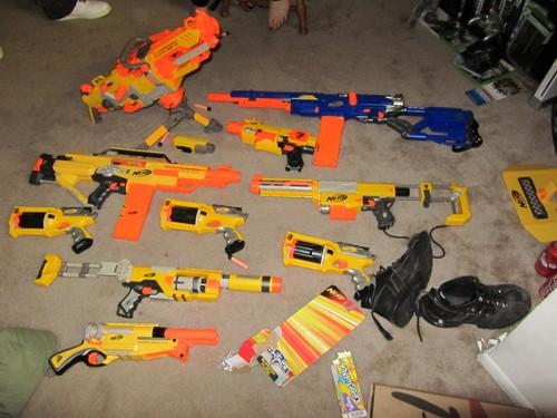 still not quite all the nerf guns