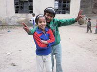 Monica i Indiens Himalaya