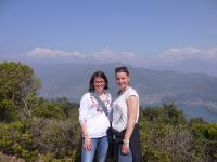 Nepal-Marlene&Inga auf Tour
